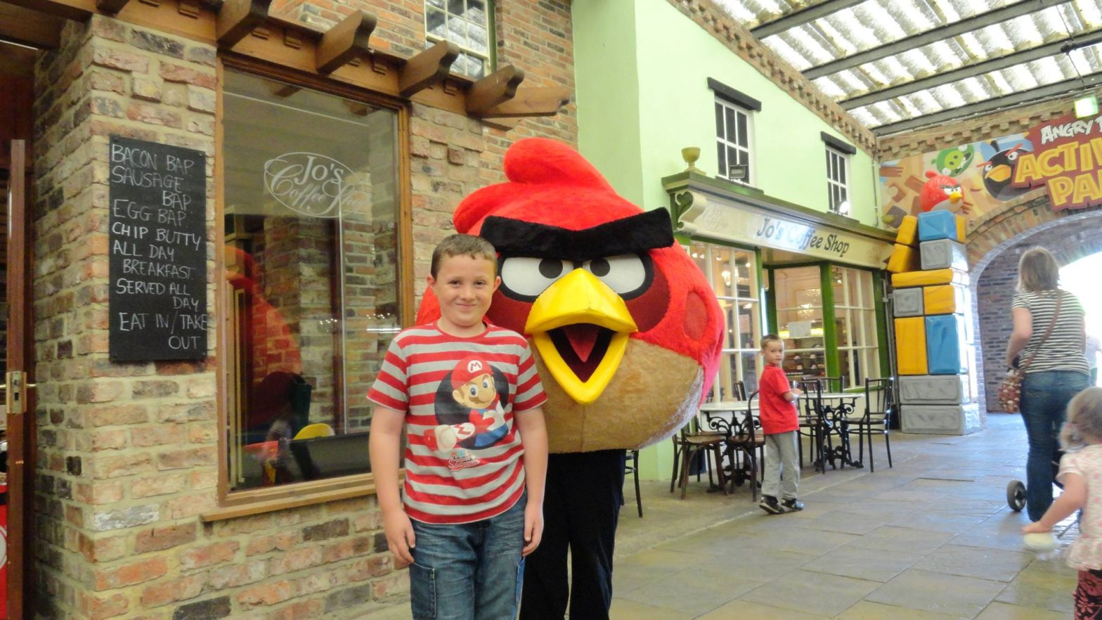 Angry Birds Land at Lightwater Valley